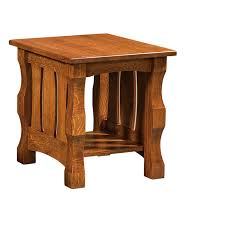 Free Shaker End Table Plans by Amish End Tables Amish Furniture Shipshewana Furniture Co