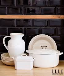 Elle Decor Kitchens by Contemporary Cool In Elle Decoration Sa Le Creuset