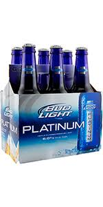 how much is a six pack of bud light bud light platinum 6 pack bottle missouri domestic beer