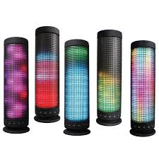 bluetooth party speakers with lights portable bluetooth speaker wireless speakers colorful led light