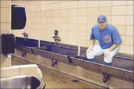 Wrigley Field Bathroom Practical Joke Goes Terribly Awry As Dempster Gets Stuck In