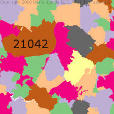 prince georges county map prince george s county maryland zip code boundary map md