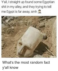 Egyptian Memes - y all i straight up found some egyptian shit in my alley and they