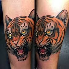 tiger tattoo by javier franco javier franco tattoo pinterest
