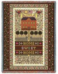 americana themed afghans and throw blankets made in the usa at