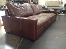 Brompton Leather Sofa 9ft Braxton Cushion Leather Sofa In Brompton Classic Vintage