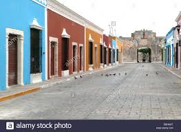 colonial spanish houses campeche stock photos u0026 colonial spanish