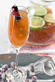 cranberry cider champagne punch bunsen burner bakery