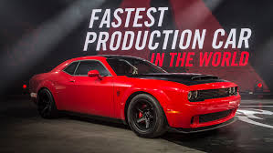 hellcat demon engine tesla model s p100dl still quicker to 60 mph than new 2018 dodge