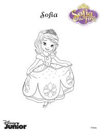 beautiful princess sofia coloring pages hellokids