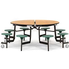 round particle board table top tables cafeteria lunchroom tables national public seating 174
