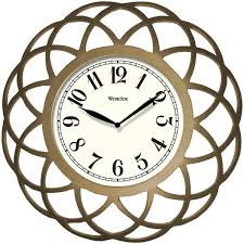 inch wall clocks wrought iron the clock depot home design howard