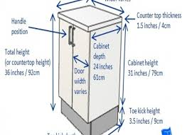Cabinet Toe Kick Dimensions Standard Depth Of Kitchen Cabinets Majestic 10 Cabinet Dimensions