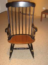 Wooden Rocking Chair Image Michael U0027s College Rocking Chair Want