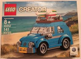 mini volkswagen beetle купить конструктор lego 40252 mini vw beetle