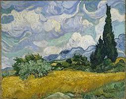 analyse du tableau la chambre de gogh ch de blé avec cyprès wikipédia