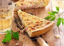 cuisine quiche lorraine quiche lorraine with parsley
