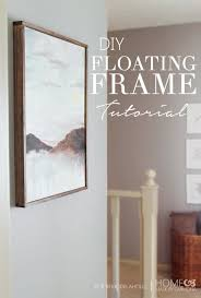 Canvas Without Frame Best 20 Floating Frame Ideas On Pinterest Two Photo Frame