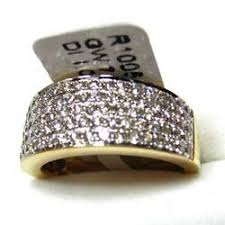 diamond studded designer gold ring diamond studded gold rings exporter from jaipur