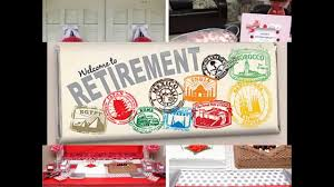 retirement party table decorations creative retirement party decorations youtube