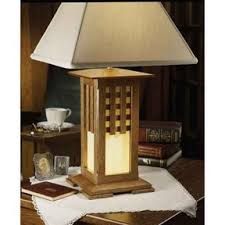 Woodworking Plans Desk Lamp by Downloadable Woodworking Project Plan To Build Arts And Crafts