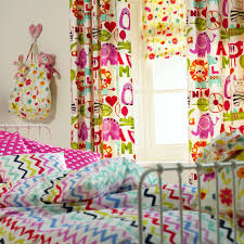 Childrens Curtains Girls Curtains Magnificent Pink Childrens Curtain Pole Memorable