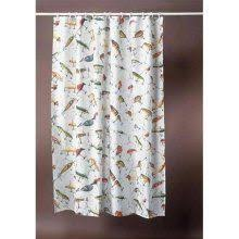 Fishing Shower Curtains Vintage Fish Shower Curtain Boy Rooms Pinterest