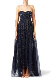 rent starry night gown by marchesa notte for 175 200 only at