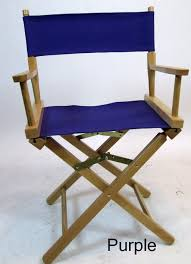 Stylish Folding Chairs Home Accessories Intriguing Purple Directors Chair Cover Pattern