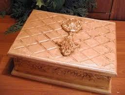 how to make a thrift store box into christmas decor christmas