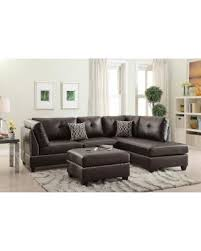 Reversible Sectional Sofa New Savings On Bobkona Chaise Pine Wood 3 Pcs Reversible Sectional