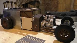 This Custom Built by This Custom Metal Rc Model Rat Rod Shop Truck Is Badass