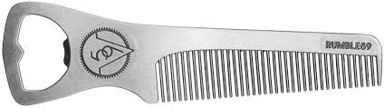 metal comb rumble 59 bottle opener metal comb sourpuss clothing