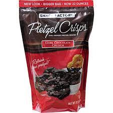 pretzel delivery costco snack factory pretzel crisps chocolate crunch delivery