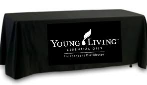 black display table cloth yl tablecloth solutions the oil posse