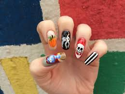 nightmare before christmas nail designs images nail art designs