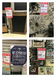 hobby lobby 50 chalkboards metal decor photo frames and more
