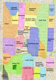 Map Of Ks Midtown Neighborhoods Map Midtown Kc Post