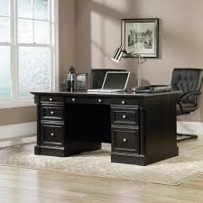 Sauder Harbor View Computer Desk With Hutch Salt Oak by Popular Of Computer Desk With Hutch Black Sauder Edge Water
