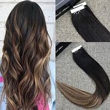 glue in hair extensions in balayage human hair roots ombre extensions shine