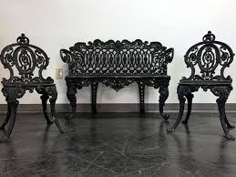 Antique Cast Iron Garden Benches For Sale by Best 25 Cast Iron Garden Furniture Ideas On Pinterest Garden