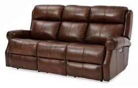Top Grain Leather Reclining Sofa Mcguire Top Grain Leather Reclining Sofa Weir S Furniture