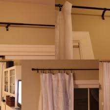 Magnetic Curtain Rods Home Depot Interior Ideas Enchanting Short Curtain Rods For Decorating A