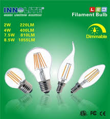 innolite led filament bulb is a direct replacement for traditional