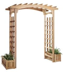 wedding arches canada garden arbor pagoda and patio trellis by all things cedar canada