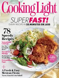 cooking light subscription status cooking light magazine subscription 19 99 two years saving
