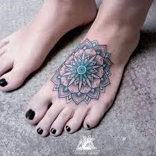 the 25 best mandala foot tattoo ideas on pinterest mehndi