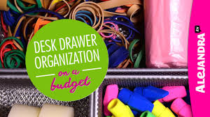 Organizing Desk Drawers by Video Desk Drawer Organization On A Budget Part 3 Of 4 Dollar