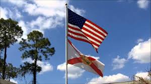 Uncommon Usa Flags Two Flags Over Florida Youtube