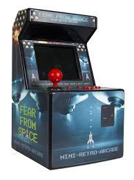Singende Wohnzimmer Berlin Die Franzis Abenteuer Box Retro Videogame Automat Der Mini Arcade